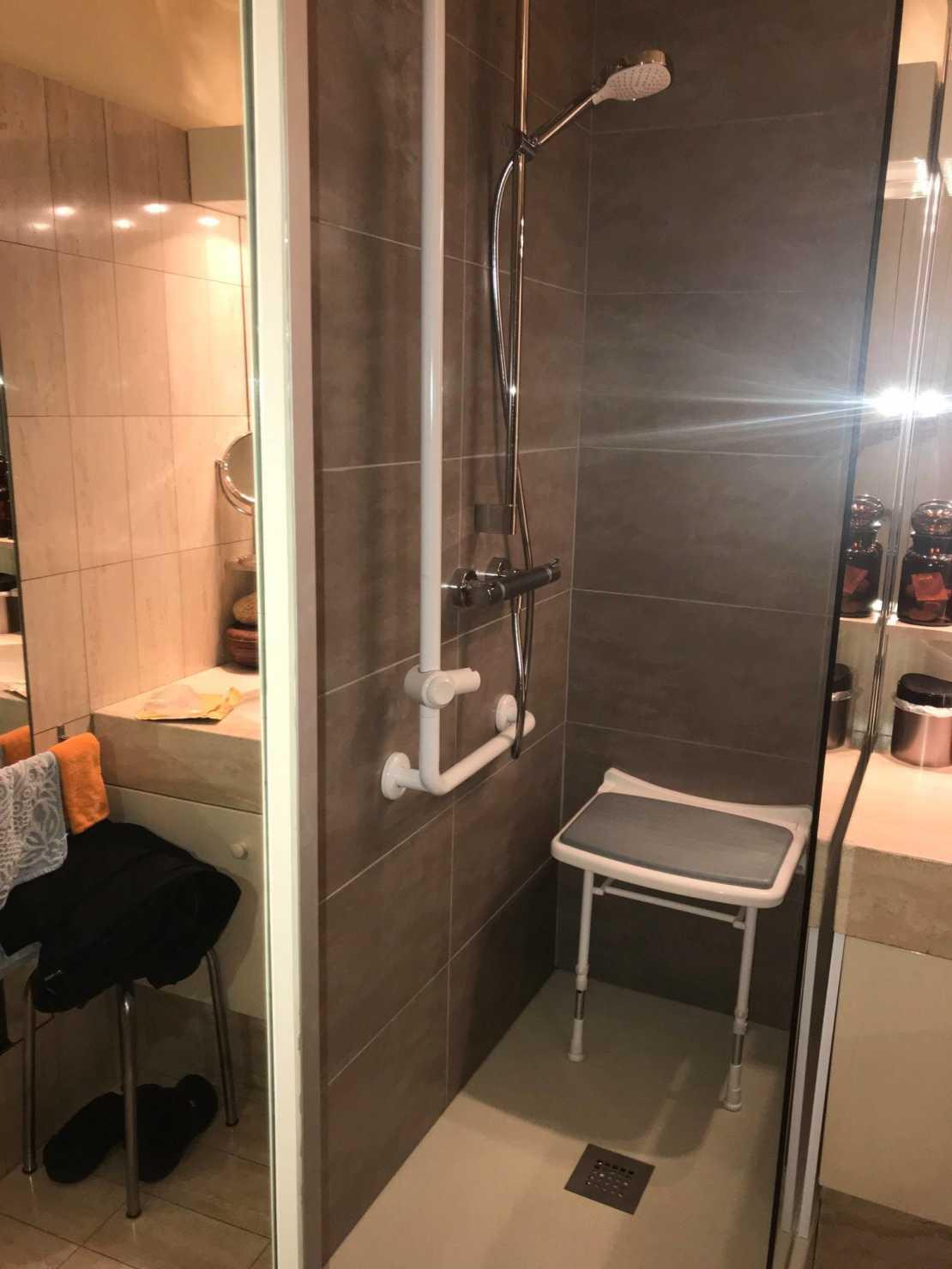 aménagement de salle de bain pour personnes âgées sur Bordeaux